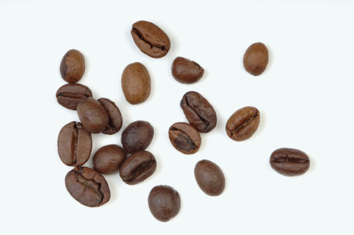 Roasted「Roasted coffee beans, close-up」:スマホ壁紙(13)