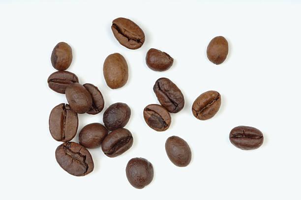 Roasted coffee beans, close-up:スマホ壁紙(壁紙.com)