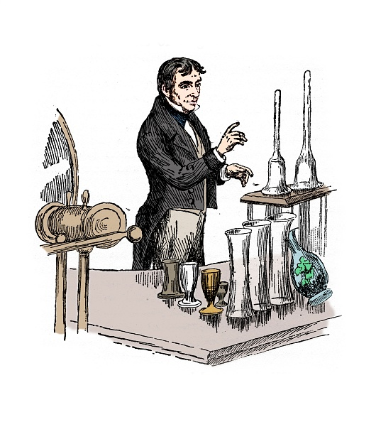 Chemical「Michael Faraday Lecturing At The Royal Institution」:写真・画像(7)[壁紙.com]