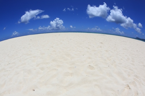 Northern Mariana Islands「White sands and blue sky, Saipan, Northern Mariana Islands」:スマホ壁紙(0)