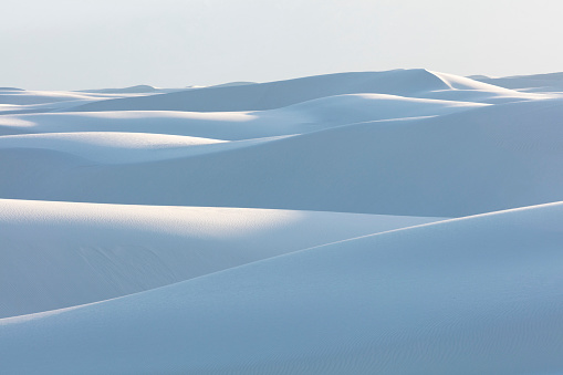 Desert「White Sands NM, New Mexico, USA」:スマホ壁紙(8)