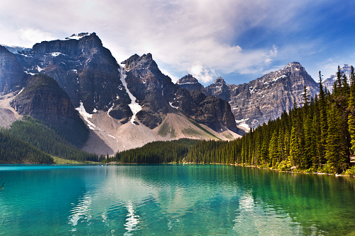 Moraine Lake「Lake Moraine in Banff National Park of Canada」:スマホ壁紙(13)