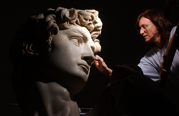 Michelangelo's David「Michelangelo's David Gets Controversial Makeover」:写真・画像(10)[壁紙.com]