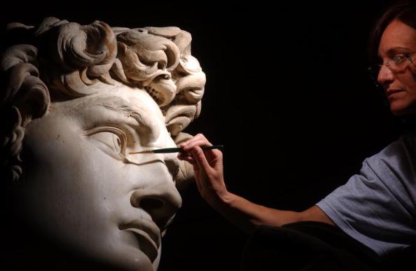 Michelangelo's David「Michelangelo's David Gets Controversial Makeover」:写真・画像(14)[壁紙.com]