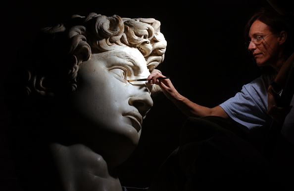 Michelangelo's David「Michelangelo''s David Gets Controversial Makeover」:写真・画像(7)[壁紙.com]