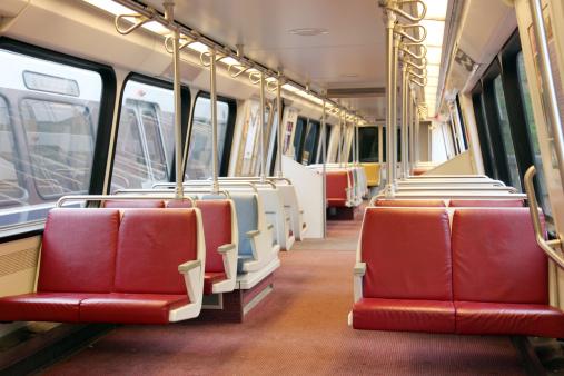 Train Interior「Commuter/Subway Train Interior, Washington DC」:スマホ壁紙(2)