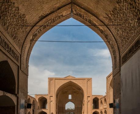 Iranian Culture「Masjidi Jemah Mosque at Ardestan, Esfahan Province」:スマホ壁紙(6)