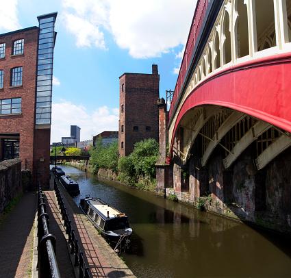 Railway「Rochdale Canal in Manchester.」:スマホ壁紙(8)