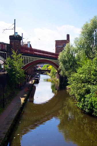 Railway「Rochdale Canal in Manchester.」:スマホ壁紙(9)