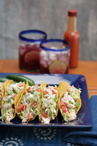 Taco「Chicken tacos and sangria」:スマホ壁紙(0)