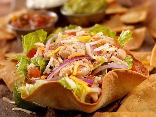Chicken Taco Salad:スマホ壁紙(壁紙.com)