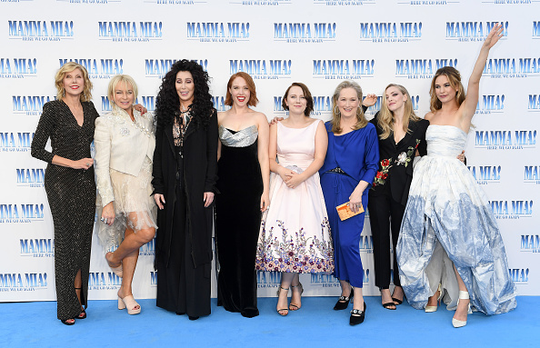 Mamma Mia Here We Go Again「Mamma Mia! Here We Go Again World Premiere」:写真・画像(0)[壁紙.com]