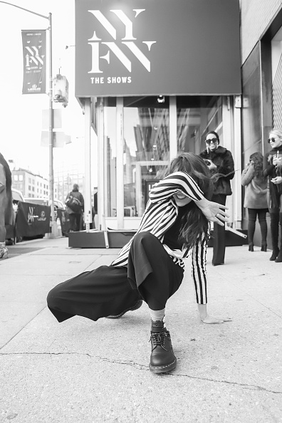 Achim Aaron Harding「Street Style - New York Fashion Week February 2019 - Day 3」:写真・画像(4)[壁紙.com]