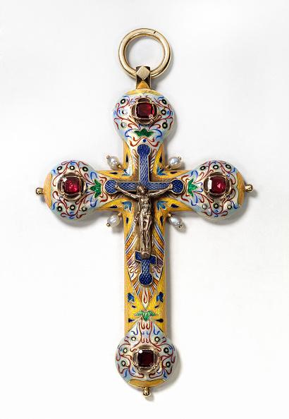 Religion「Pectoral cross, Between 1899 and 1908. Artist: Hollming, August Frederik, (Fabergé manufacture) (1854-1915)」:写真・画像(5)[壁紙.com]