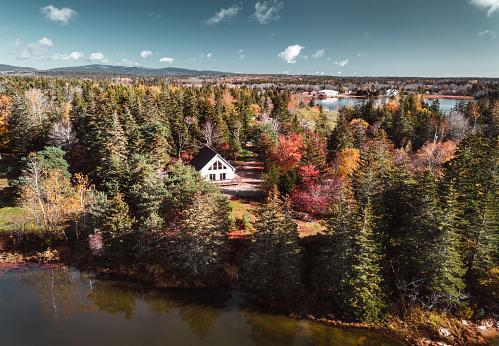 Hairpin Curve「autumnal landscape in Vermont」:スマホ壁紙(6)