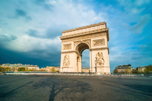 Arc de Triomphe - Paris「Tthe Arc de Triomphe, Paris」:スマホ壁紙(7)