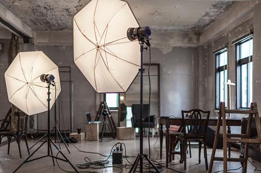 Stage Set「Photo studio」:スマホ壁紙(4)