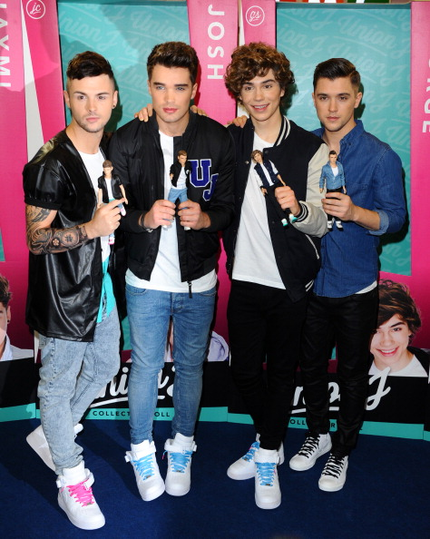 Anthony Harvey「Union J Dolls - Launch Photocall」:写真・画像(16)[壁紙.com]