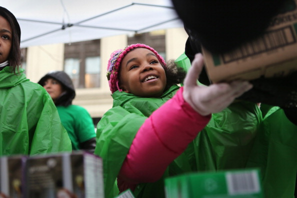 Cookie「Girl Scouts Sell Cookies From Street Trucks In New York City」:写真・画像(2)[壁紙.com]