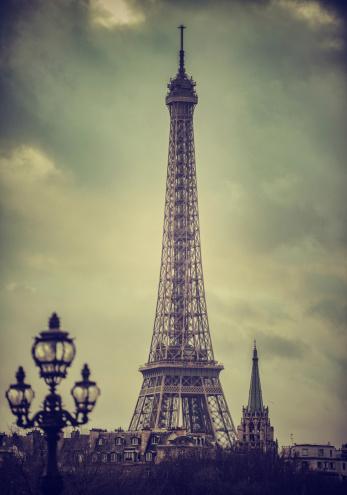 France「Paris. Eiffel Tower.」:スマホ壁紙(5)