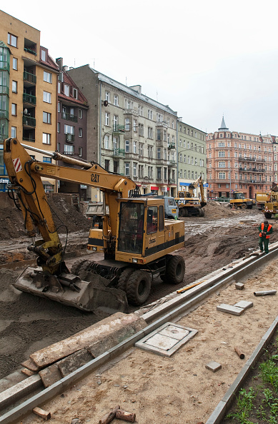 Finance and Economy「EU funded reconstruction of the north-south cross-town tram line and upgrading of streets, Wroclaw, Poland」:写真・画像(3)[壁紙.com]