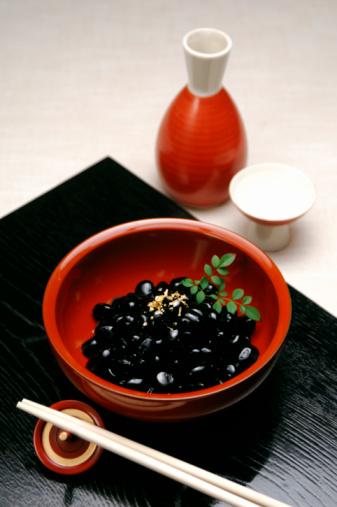 Sake「Kuromame and sake」:スマホ壁紙(6)