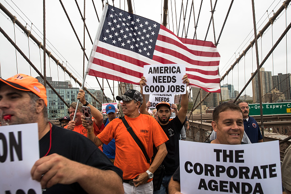 Employment And Labor「NY Gov. Cuomo And AFL-CIO President Join Union Members In Spectrum Protest」:写真・画像(5)[壁紙.com]