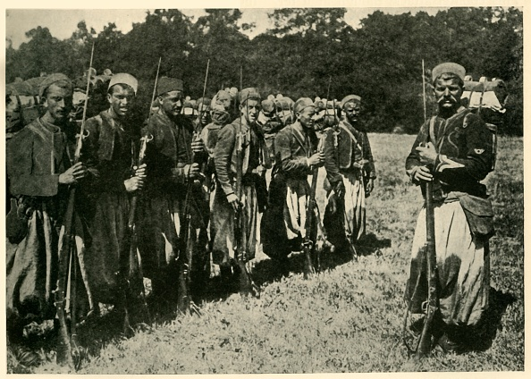 France「Algerian Tirailleurs Known As Turcos」:写真・画像(12)[壁紙.com]