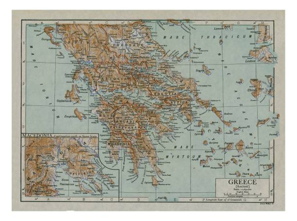 Map Of Ancient Greece:ニュース(壁紙.com)