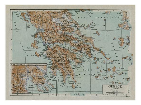 Island「Map Of Ancient Greece」:写真・画像(13)[壁紙.com]