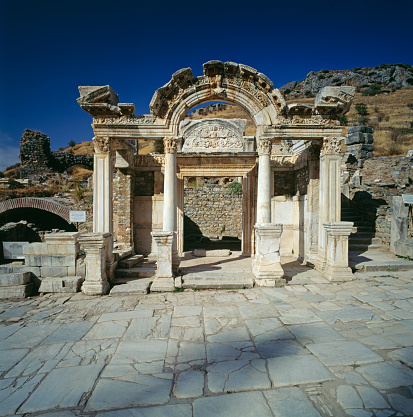 Roman「Ancient city of Ephesus」:スマホ壁紙(1)