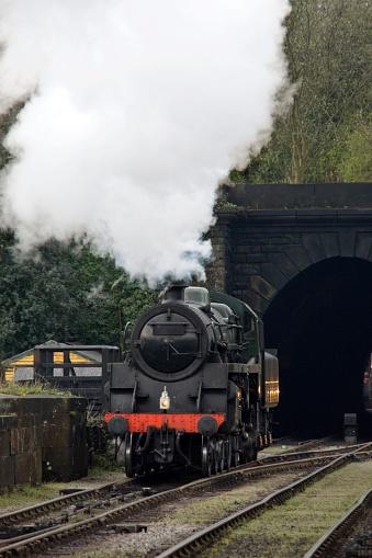 SL「Train, Yorkshire, England」:スマホ壁紙(1)