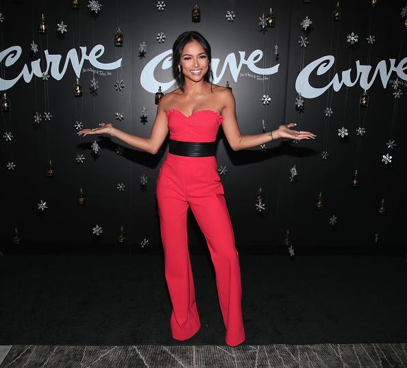 Hot Pink「Actress & Model Karrueche Tran Hosts Curve Fragrances Holiday Party」:写真・画像(17)[壁紙.com]