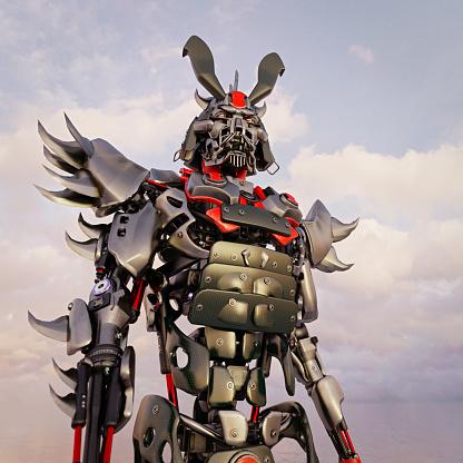 Battle「Samurai robots」:スマホ壁紙(18)