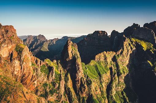 Pico Do Arieiro「Pico De Arieiro On Madeira Island」:スマホ壁紙(4)