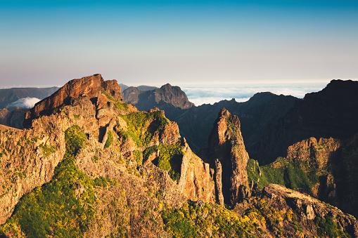 Pico Do Arieiro「Pico De Arieiro On Madeira Island」:スマホ壁紙(11)