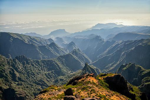 Pico Do Arieiro「Pico De Arieiro On Madeira Island」:スマホ壁紙(1)
