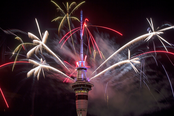 New Year「New Zealanders Celebrate New Year's Eve 2016」:写真・画像(11)[壁紙.com]