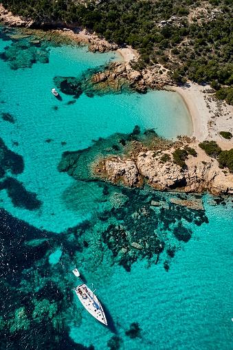 Sailboat「Sardinia Coastline, Italy」:スマホ壁紙(18)