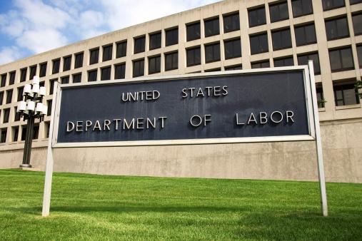 Politics「Sign outside Department of Labor building, Washington, DC」:スマホ壁紙(0)