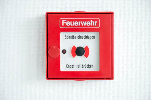 Emergency Services Occupation「German fire alarm box on a wall」:スマホ壁紙(12)