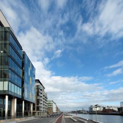 Liffey River - Ireland「Dublin and river Liffey」:スマホ壁紙(16)