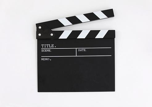 Media Equipment「Clapper board, close up, front view」:スマホ壁紙(3)