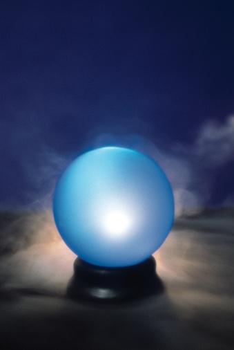 Glowing「Crystal ball」:スマホ壁紙(12)