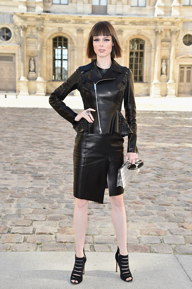 Straight Hair「Christian Dior : Outside Arrivals - Paris Fashion Week Womenswear Spring/Summer 2015」:写真・画像(19)[壁紙.com]
