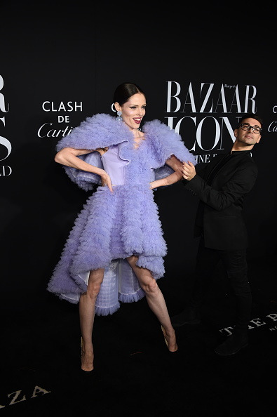 "High Low Dress「Harper's BAZAAR Celebrates ""ICONS By Carine Roitfeld"" At The Plaza Hotel Presented By Cartier - Arrivals」:写真・画像(4)[壁紙.com]"