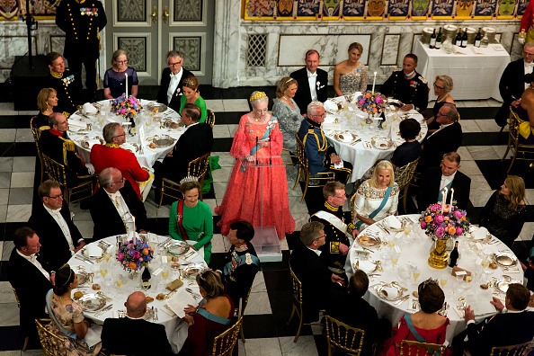 Prince - Royal Person「Crown Prince Frederik of Denmark Holds Gala Banquet At Christiansborg Palace」:写真・画像(17)[壁紙.com]