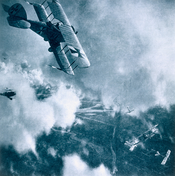 雲「Aerial Combat On The Western Front World War I 1914-1918」:写真・画像(12)[壁紙.com]