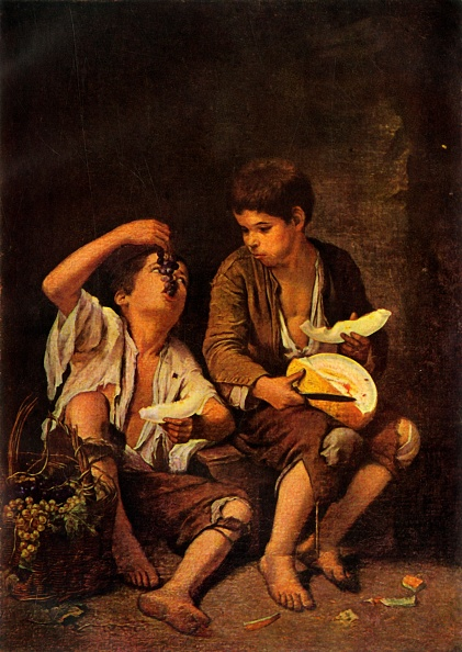 17th Century「The Melon Eaters」:写真・画像(2)[壁紙.com]