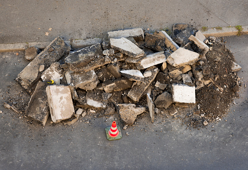 Rubble「Road construction Debris」:スマホ壁紙(13)